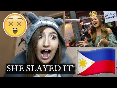 "Reacting to Morissette Amon ""Rise Up"" on Wish 107.5 Bus"