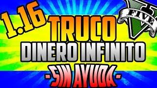 NEW GLITCH GTA V ONLINE 1.16 - DINERO INFINITO SIN AYUDA Y SIN ESPERAS - NUEVO TRUCO GTA5