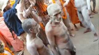 Naga Baba shivarathiri festival at varanasi