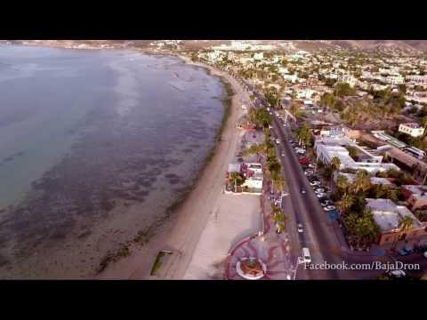 Malecón de La Paz, Baja California Sur, México.