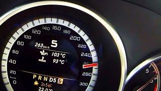Mercedes CLS 63 AMG *Brutal Acceleration & Sound*