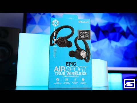 Worthy Competitor! : JLab Jbuds Epic Air Sport True Wireless REVIEW