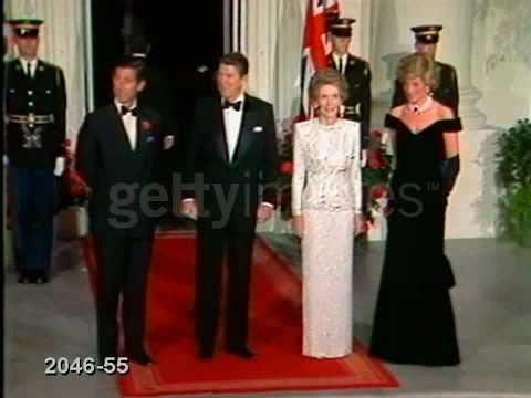 Princess Diana at the White House