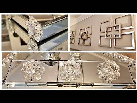 Dollar Tree DIY Mirror Decor Ideas Z Gallerie Inspired Wall Decor