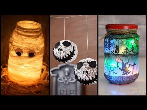 60-easy-halloween-crafts-for-adults,mason-jar-decoration-for-hallowen,hallowen-craft-trends