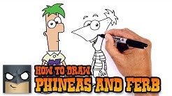 How to Draw Phineas and Ferb | Drawing Tutorial