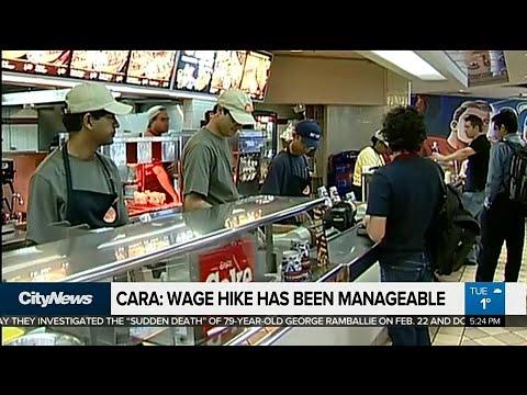Business Report: Restaurant owner managing minimum wage increase