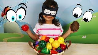 Угадай Фрукт или Овощ? Учим названия фруктов и овощей вместе с Эмилюшей