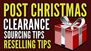 After Christmas Sourcing Tips for Amazon FBA, eBay, and Craigslist