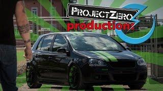 ProjectZero - Black Mamba | VW Golf MKV | Car Porn