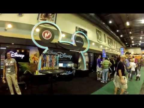 2014 Disney Wine & Dine Half Marathon Expo [GoPro]