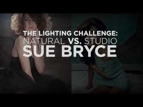 The Lighting Challenge: Natural vs Studio with Sue Bryce and Felix Kunze