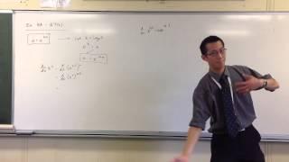 Rephrasing Exponentials in Base e