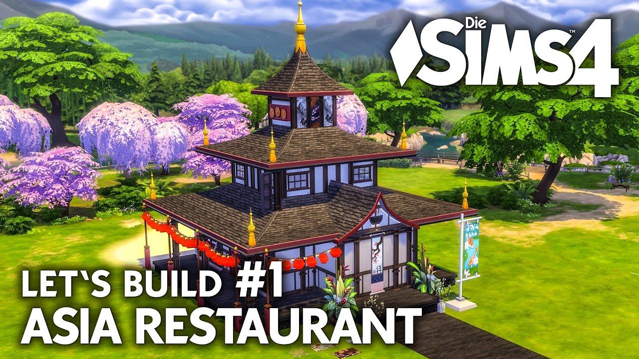 Die sims 4 gaumenfreuden release showcase restaurant gameplay pack - Die Sims 4 Asia Restaurant Bauen 1 Let S Build Gaumenfreuden Gameplay Pack