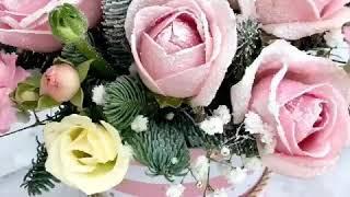 видео Цветы на Новый год