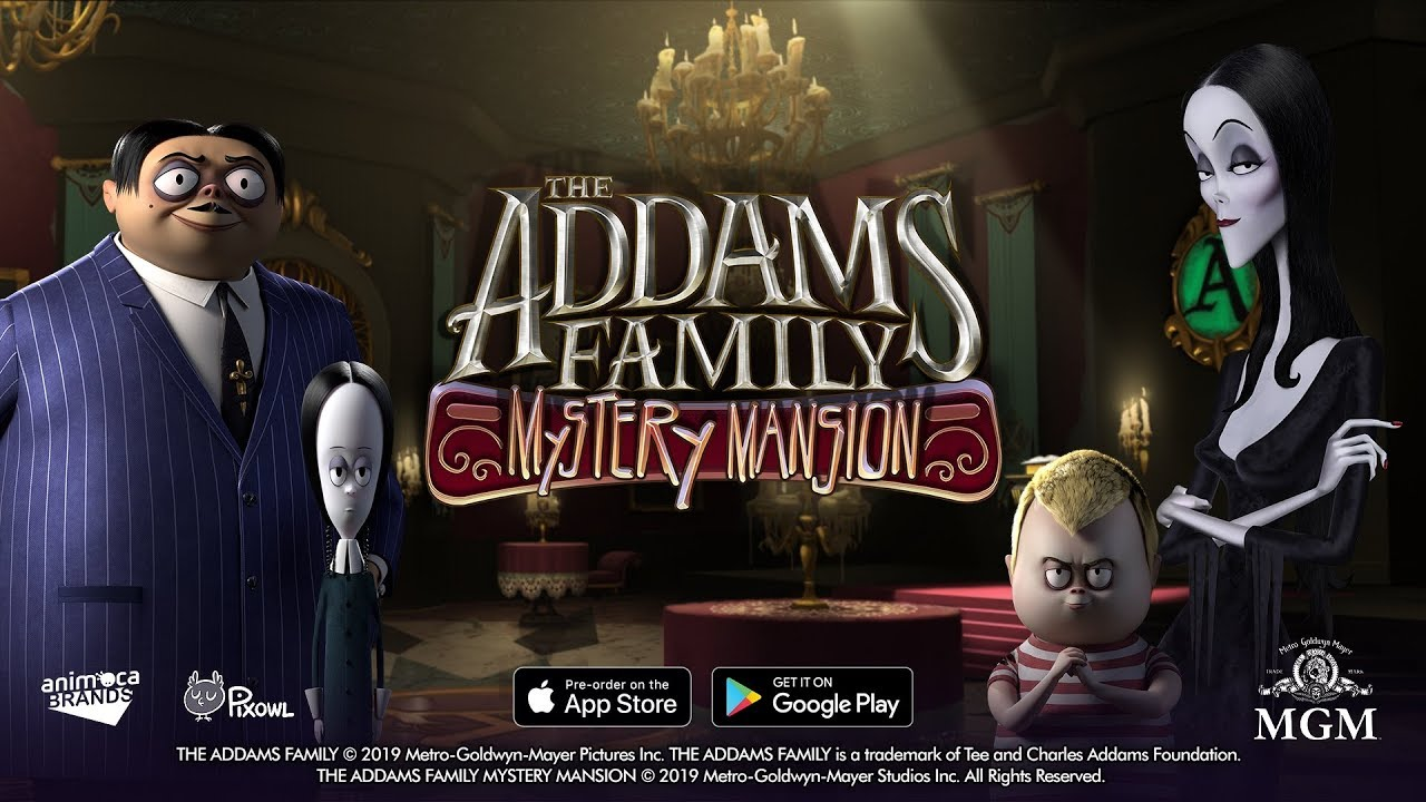 The Addams Family Mystery Mansion Ios Android Game Trailer Youtube