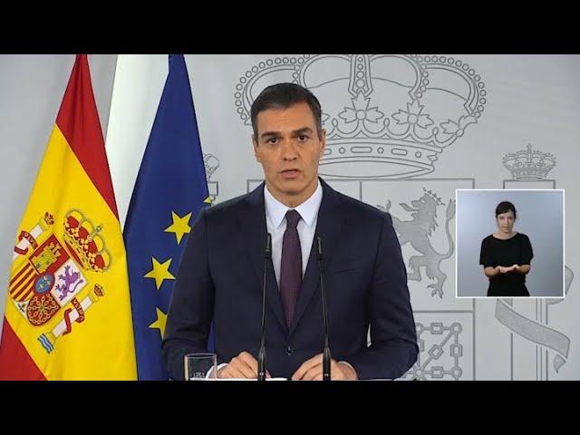 Sánchez dice que España tuvo más de 3 millones de casos de coronavirus