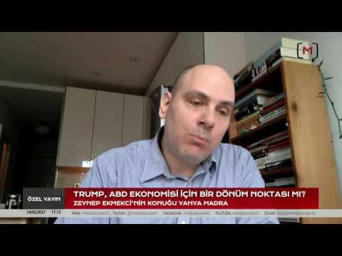 Trumponomics: Trump, ABD Ekonomisi için bir dönüm noktası mı? Konuk: Yahya Madra
