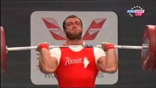 2011 Paris World Weightlifting Championships 105 Kg Clean and Jerk