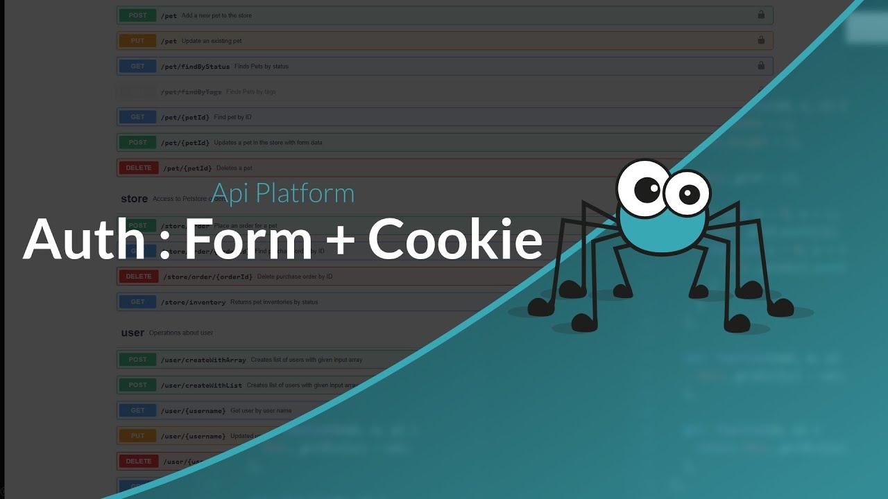 Découverte d'API Platform : Authentification Form HTML