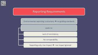 Environmental and social reporting