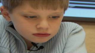 Autistic boy learns to speak