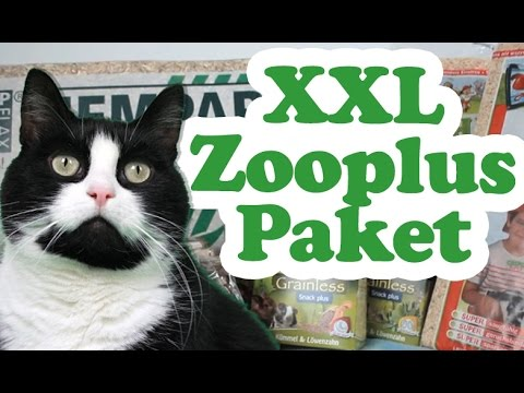 xxl zooplus paket unboxing youtube. Black Bedroom Furniture Sets. Home Design Ideas