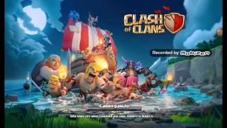 Começa do clash of clans