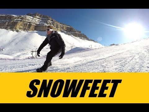 Snowfeet - Mini Skis - New Booming Winter Sport