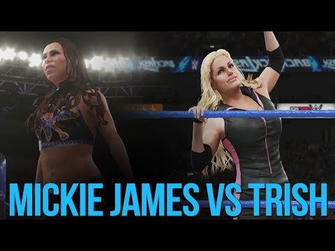WWE 2K18: Trish Stratus Vs Mickie James