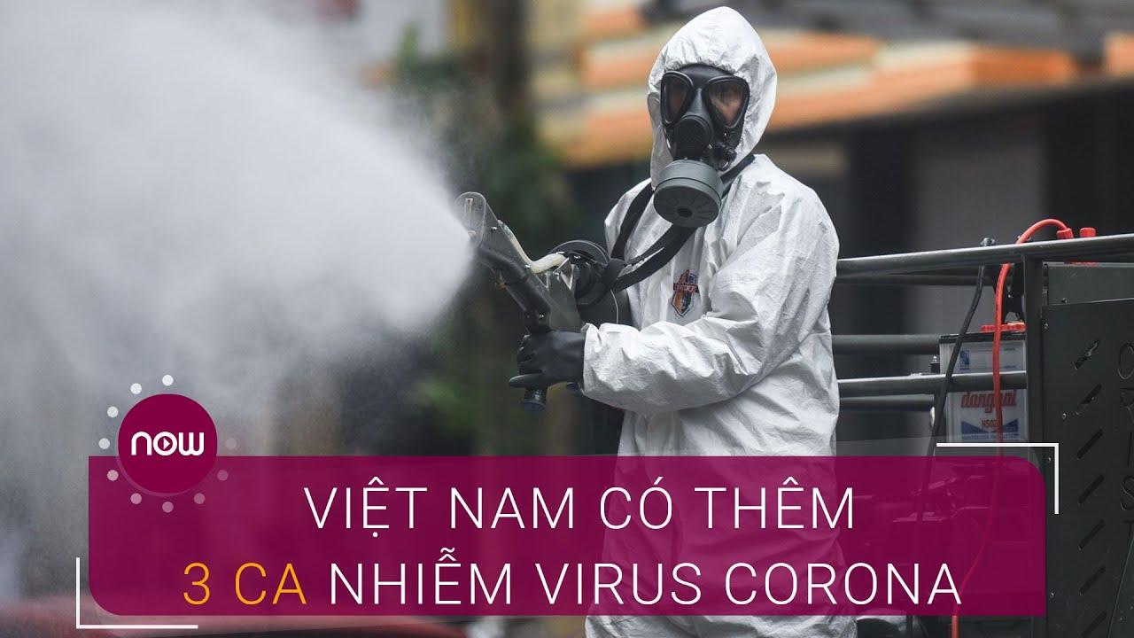 Chiều 13/4: Việt Nam có thêm 3 ca nhiễm virus Corona mới   VTC Now