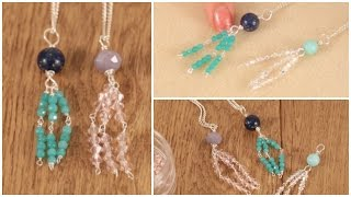 DIY: Make a Trendy Tassel Necklace