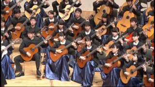 [2015]「もののけ姫」よりアシタカせっ記 / 久石譲 (相模原中等クラシックギター部)