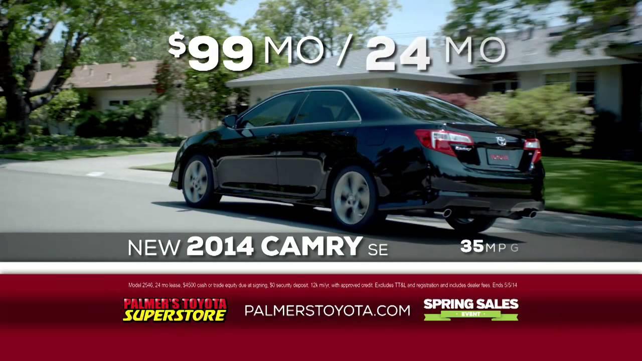 Palmers Toyota   Spring Sales Event   Camry Specials   April 2014 Mobile, AL