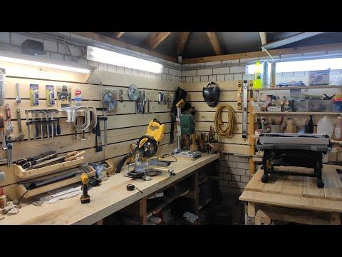 Столярная мастерская своими руками на даче