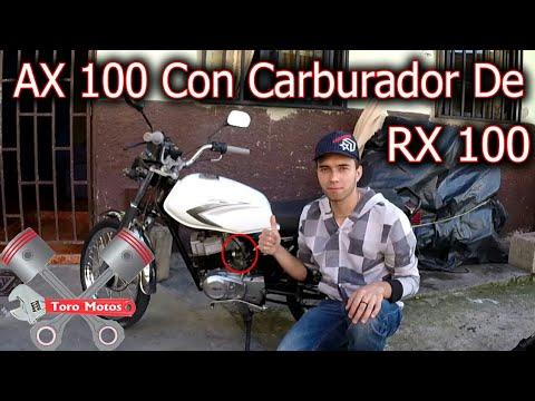 AX 100 CON CARBURADOR DE RX 100, Suzuki AX 100 Test Drive | ToroMotos