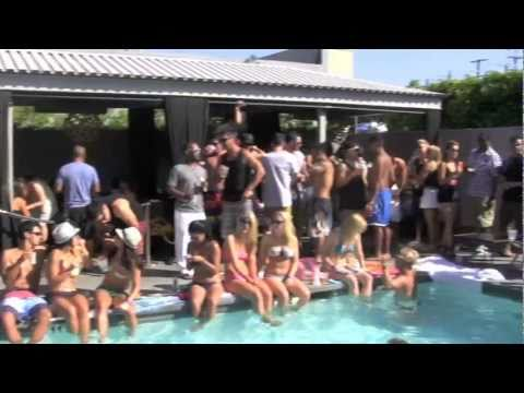 AFTERNOON DELIGHT LA: Poolside @ The Custom Hotel 7/16/11 (Video #1 of 2)