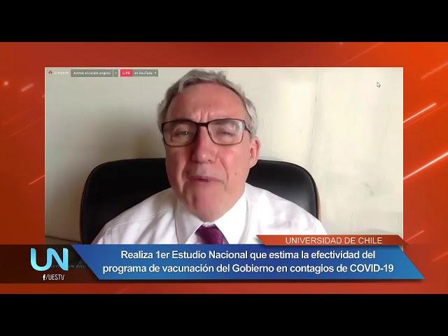 UESTV NOTICIAS EN VIVO - LANZAMIENTO ESTUDIO VACUNAS UCHILE