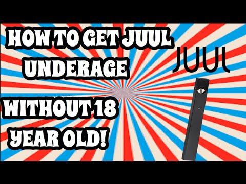 HOW TO BUY JUUL/ VAPE  UNDERAGE!! (Online)