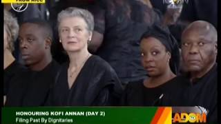 Honouring Kofi Annan (Day 2) on Adom TV (12-9-18)