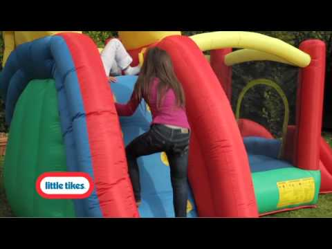 Little Tikes Double Fun N' Slide Bouncer