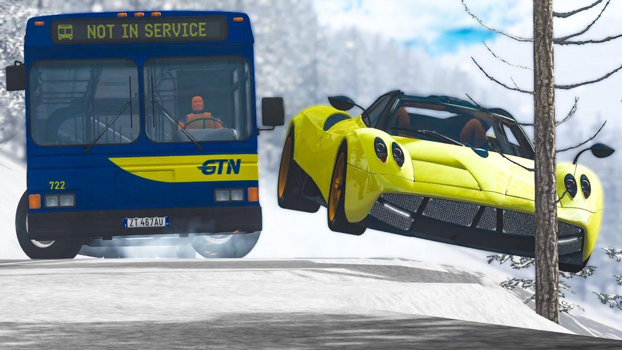 Will these Cars still Drive after Crashing? 125 - BeamNG Drive | CRASHdriven