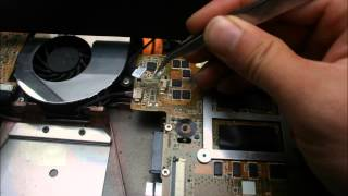 ASUS G73JH 노트북 분해(Laptop disassembly)