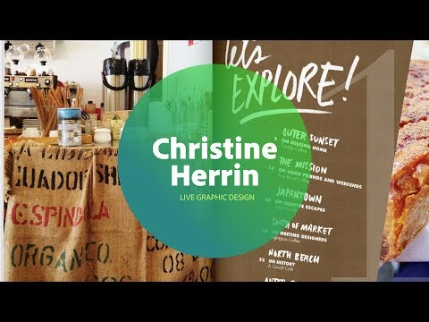 Live Graphic Design with Christine Herrin 1/3