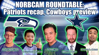 Seahawks vs. Cowboys - Who will win? NorbCam Roundtable breaks it down!