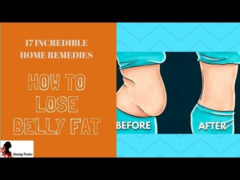 How to Lose 10 Pounds In a Week Without Exercise | 17 Home Remedies To Lose Belly Fat Fast Naturally