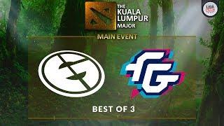 [DOTA 2] Forward Gaming VS Evil Geniuses (BO3) - The KL Major Playoffs Day 3