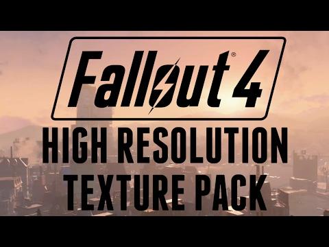 Fallout 4: High Resolution Texture Pack DLC