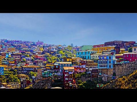 Chile - Valparaíso - Vinã del Mar - Santiago...