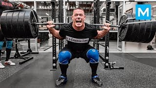 John Cena Hardest Workouts | Muscle Madness